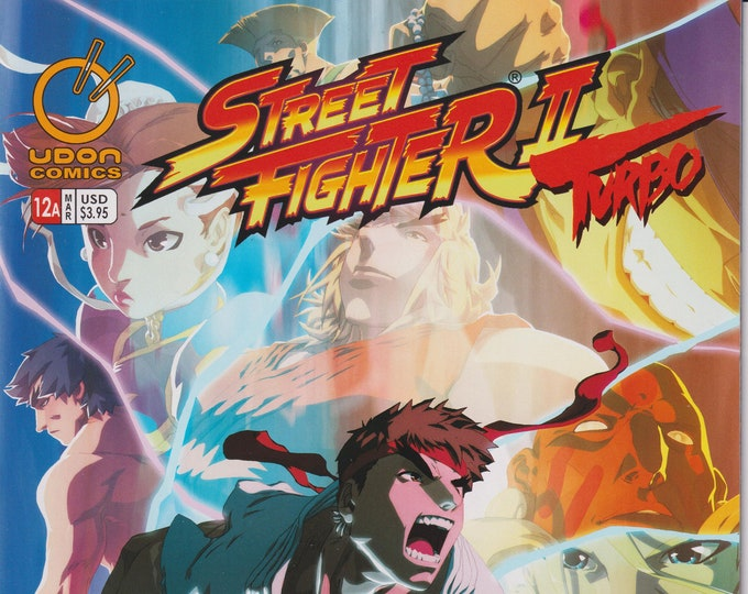 Udon 12  March 2010 Cover A Street Fighter II Turbo First Printing (Comic: Street Frighter II))