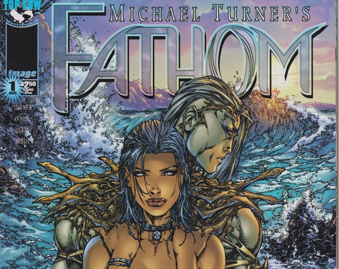 Top Cow Image #1 Michael Turner's Fathom 1 August 1998 First Printing (Comic)