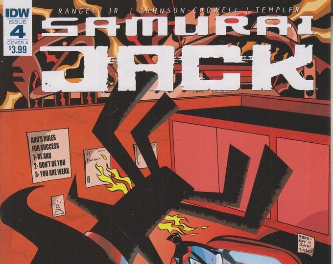 IDW Issue 4 Cover A Samurai Jack - Quantum Jack [adult swim] (Comic: Samurai Jack) 2017