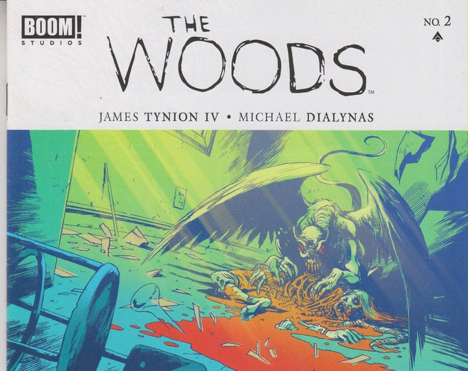 Boom! Studios #2 The Woods  (Comic: The Woods) 2014
