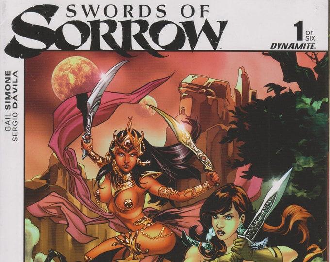 Dynamite 1 of 6  Swords of Sorrow  (Comic: Swords of Sorrow)  2015