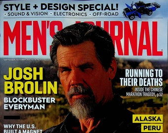 Men's Journal September October 2021 Josh Brolin Blockbuster Everyman  (Magazine: Men's)