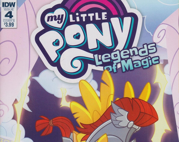 IDW Issue 4 Cover B My Little Pony Legends of Magic (Comic:  My Little Pony) 2017