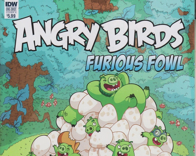 IDW One-Shot Angry Birds Furious Fowl  (Comic: Angry Birds) 2017