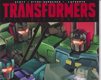 IDW 10   May 2017  Sub Cover Transformers Till All Are One  (Comic: Transformers)