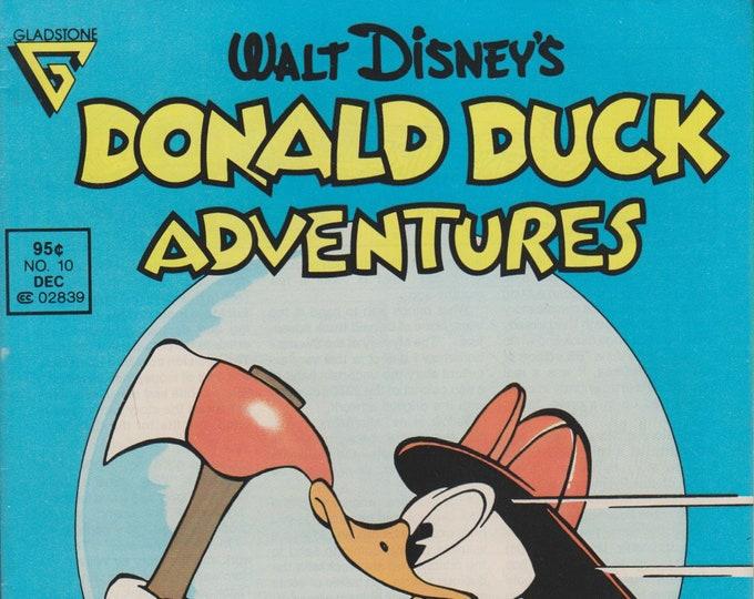 Gladstone No. 10 Walt Disney's Donald Duck Adventures (Comic: Donald Duck)  1988