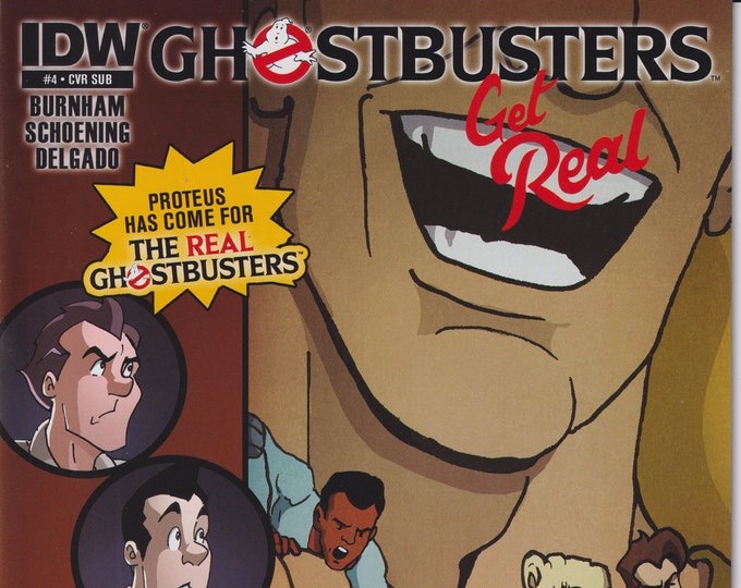 IDW Issue 4 Cover Sub Ghostbusters Get Real September 2015 First Printing (Comic:  Ghostbusters)