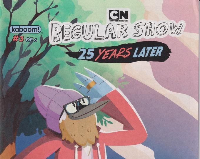 KaBoom #3 August 2019  Cartoon Network Regular Show  25 Years Later (Comic: cartoon Network Regular Show)