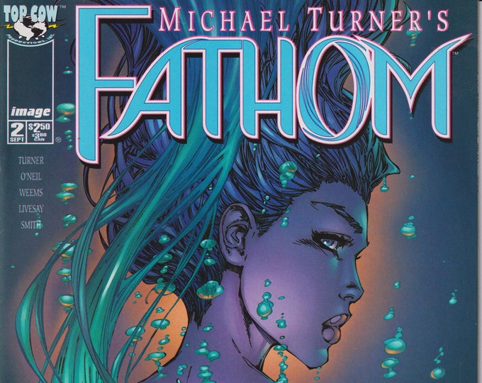 Top Cow Image Michael Turner's Fathom 2 September 1998 First Printing (Comic)
