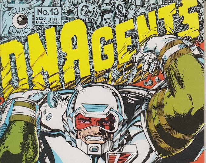 Eclipse Comics June 1984 No. 13 DNAgents (Copper Age Comic: DNAgents)  1984