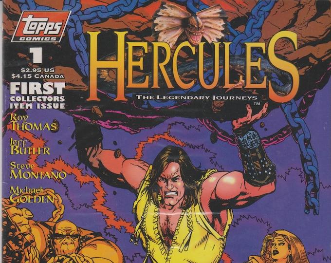 Topps Comics #1 Hercules The Legendary Journeys   (Comic Book: Hercules) 1996
