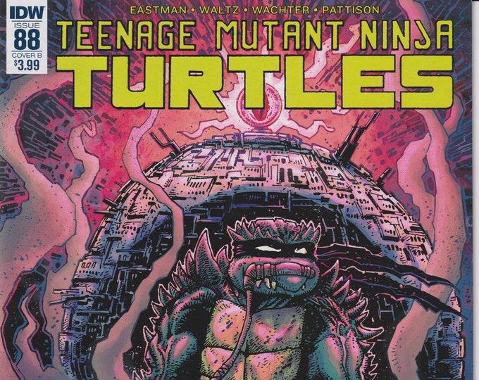 IDW 88 Cover B November 2018 First Printing Teenage Mutant Ninja Turtles (Comic)