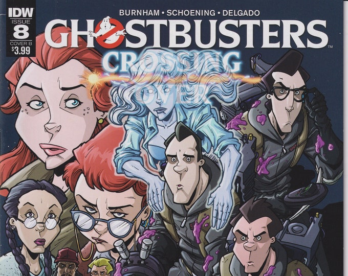 IDW Issue 8 Cover B Ghostbusters Crossing Over October 2018 First Printing (Comic)