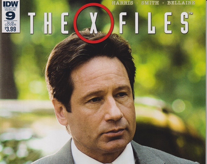 "IDW Issue 2 December 2016  The X Files ""Came Back Haunted"" Part 4  First Printing (Comic)"