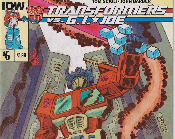 IDW 6  February 2015 Transformers vs. G.I. Joe  First Printing    (Comic: G.I. Joe. Transformers)