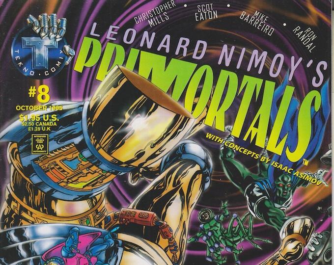 Tekno.com #8 Leonard Nimoy's Primortals  (Comic: Primortals)  1995