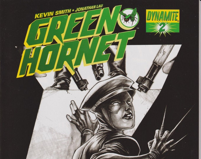 Dynamite #2 Green Hornet  Segovia Shared Exclusive Cover (Comic: Green Hornet)