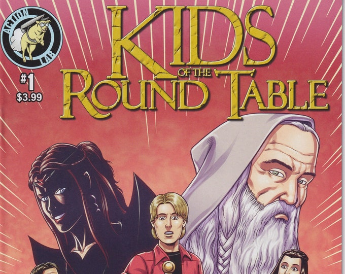 Action Lab #1 Kids of the Round Table May 2015  (Comic: Kids of the Round Table)