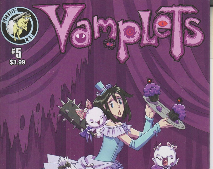 Action Lab #5 Vamplets July 2015 First Printing (Comic: Vamplets)