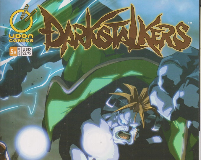 Udon Comics #5 Cover A Darkstalkers March 2005 (Comic: Darkstalkers)