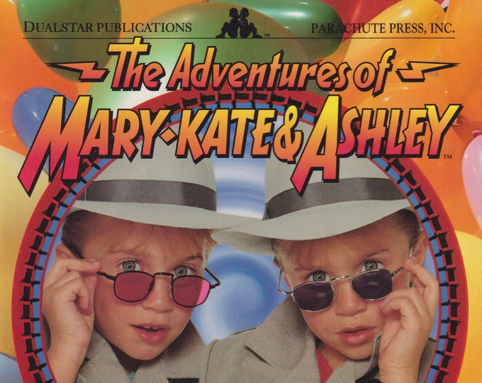 Mary-Kate & Ashley Olsen - The Case of the Fun House Mystery (Paperback: Children's Chapter Book, Movie Tie-in) 1996