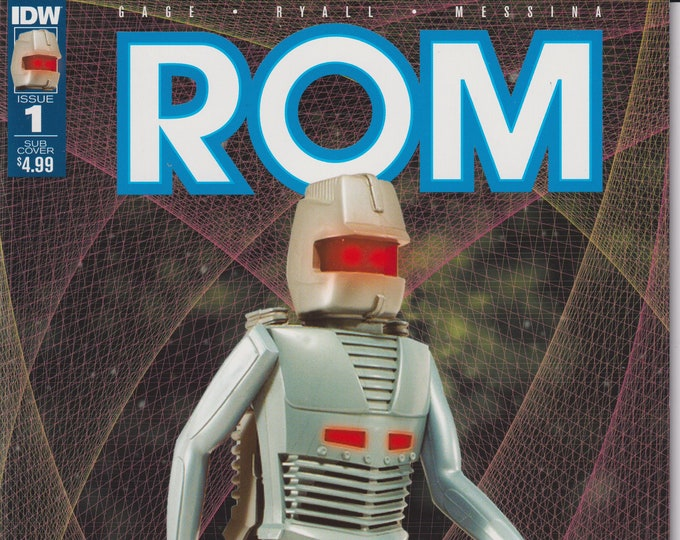 IDW Issue 1 Sub Cover Rom July 2016  First Printing (Comic: ROM )