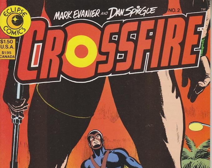 Eclipse Comics June 1984 No. 2 Crossfire (Copper Age Comic: Crossfire)  1984