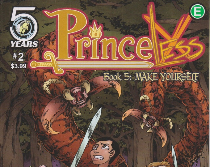 Action Lab #2  Princeless Book 5 Make Yourself May 2016  (Comic: Princeless)