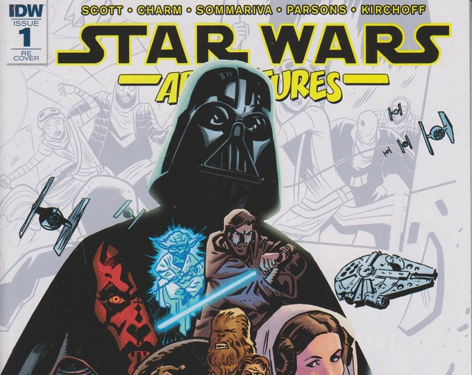 IDW September 2017 Issue 1 Re Cover Star Wars Adventures  (Comic: Star Wars) 2017