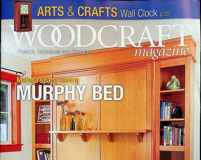Woodcraft October November 2021 Make A Space Saving Murphy Bed  (Magazine: Woodworking, Crafts, Hobby)