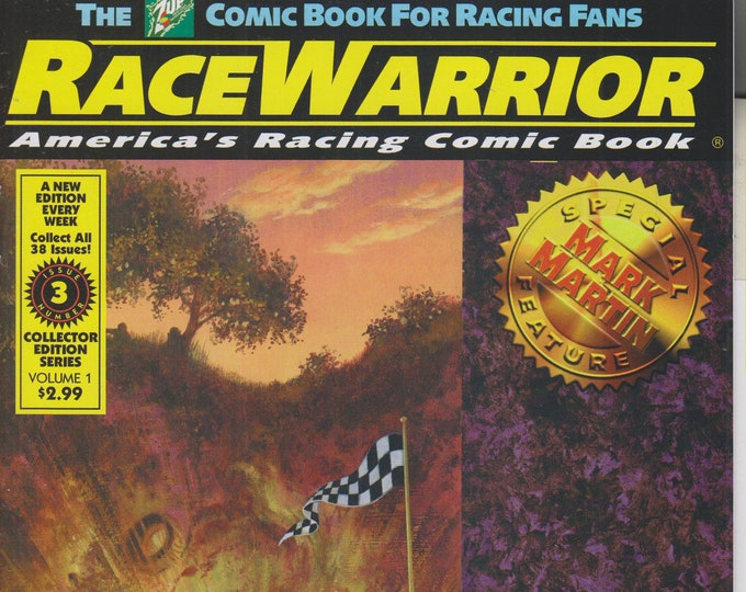 The 7Up Comic Book - Race Warrior Vol. 1 No. 3 Special Feature Mark Martin  (Comic Book: Race Warrior) 2000