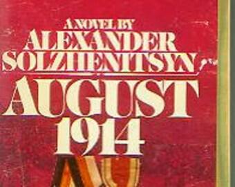 August 1914 by Alexander Sollzhenitsyn (Paperback, Historical Drama) 1974