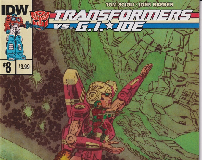 IDW 8  July 2015 Transformers vs. G.I. Joe  First Printing    (Comic: G.I. Joe. Transformers)