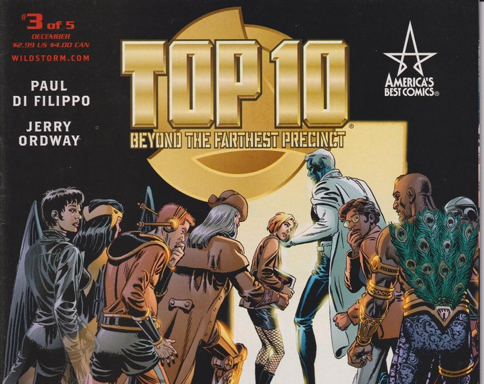America's Best Comics Top 10: Beyond the Farthest Precinct #3 (Comic)