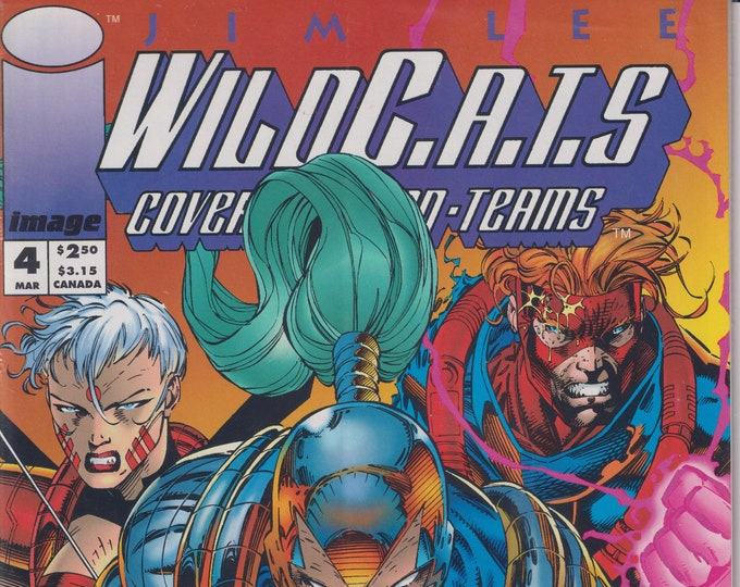 Image 1  September 1994   WildC.A.T.S. Adventures (Comic: WildC.A.T.S.)