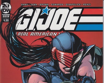 IDW 2019 Yearbook January 2019 Cover A G.I. Joe A Real American Hero  (Comic: GI Joe)