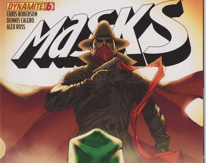 Dynamite Masks Vol. 1 No. 6 First Printing 2013 (Comic: Green Hornet)