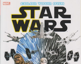 Color Your Own Star Wars (Paperback: Star Wars, Coloring Book) 2016