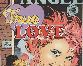 Eclipse Comics January 1986 No. 1 True Love  (Copper Age Comic: True Love)