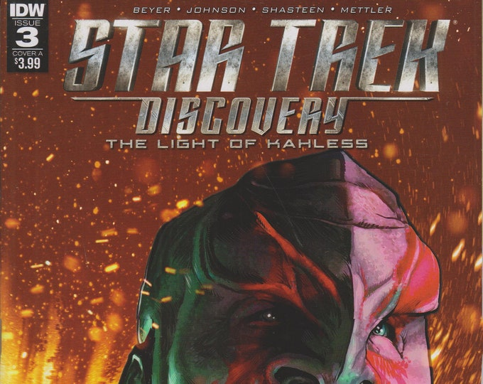 IDW December 2017 Issue 3 Cover A Star Trek Discovery - The Light of Kahless  (Comic: Star Trek)