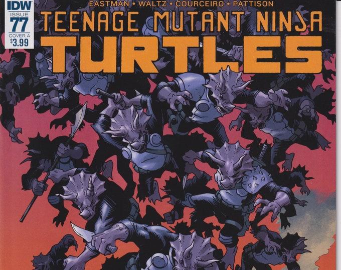 IDW 77 Cover A December 2017 First Printing Teenage Mutant Ninja Turtles (Comic)