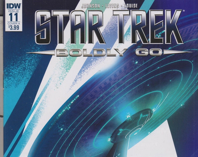 IDW Issue 11 Cover A Star Trek - Boldly Go  First Printing August 2017 (Comic: Star Trek)  2017