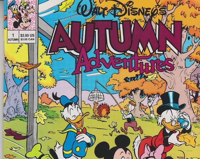 Walt Disney's Autumn Adventures # 1 (Comic Book:Disney) 1990