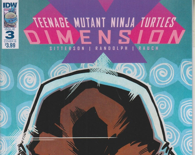 IDW August 2017  Issue 3 Cover B  Teenage Mutant Ninja Turtles Dimensions (Comic: Teenage Mutant Ninja Turtles)