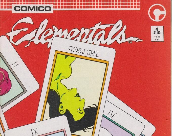Comico 1985 No. 4 Elementals   (Copper Age Comic: Elementals) 1985