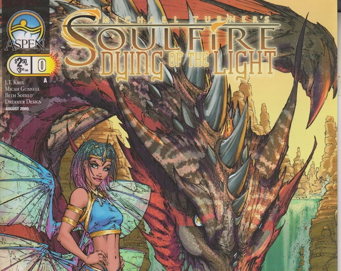 Aspen #0 Michael Turner's Soulfire Dying of the Light August 2005 Cover A  (Comic: Soulfire)