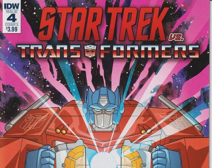 IDW 4  December 2018 Cover A Star Trek vs. Transformers - First Printing   (Comic: Star Trek. Transformers)