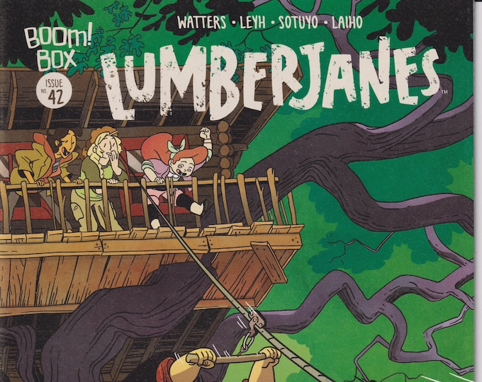 Boom! Box #42 September 2017 Lumberjanes - Chapter 42 Time After Crime  (Comic: Lumberjanes)