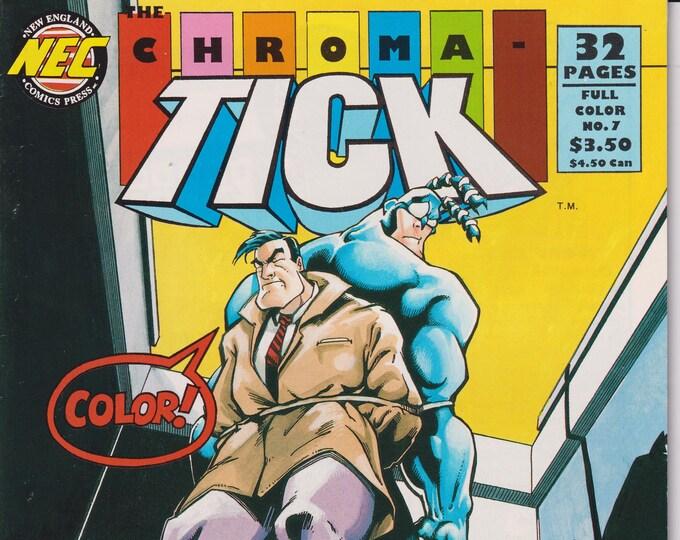NEC #7 September 1993 Chroma - Tick (Comic: Chroma-Tick)