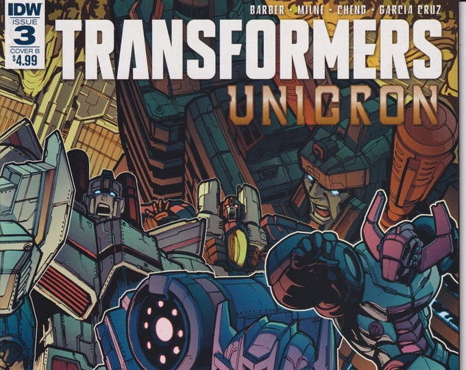 IDW 3  August  2018 Cover B  Transformers Unicron First Printing  (Comic: Transformers)